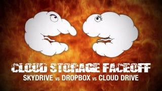Illustration for article titled Cloud Storage Faceoff: Windows Live SkyDrive vs. Dropbox vs. Amazon Cloud Drive