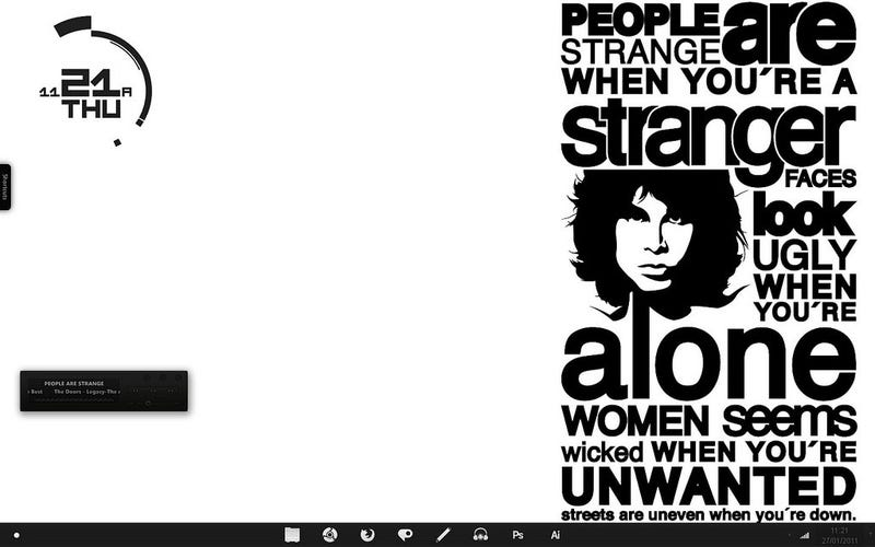 Illustration for article titled The Stranger Desktop