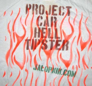 Illustration for article titled Send In Project Car Hell Tips, Get A T-Shirt!