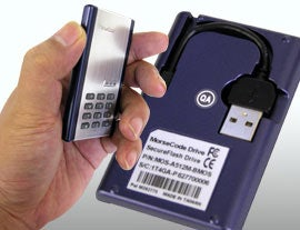 Illustration for article titled Thanko Morse Code Secure USB Drive