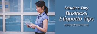 business etiquette tips www.courteouscom.com