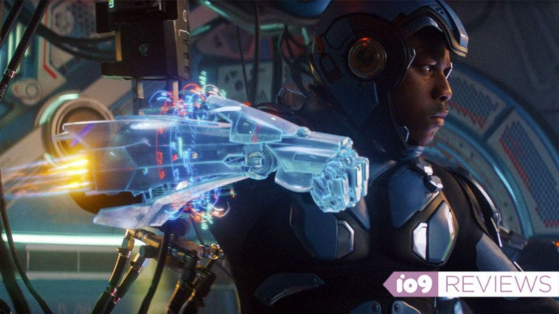John Boyega is Jake Pentecost in Pacific Rim Uprising.