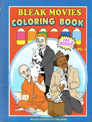 Illustration for article titled R-rated movie coloring books...
