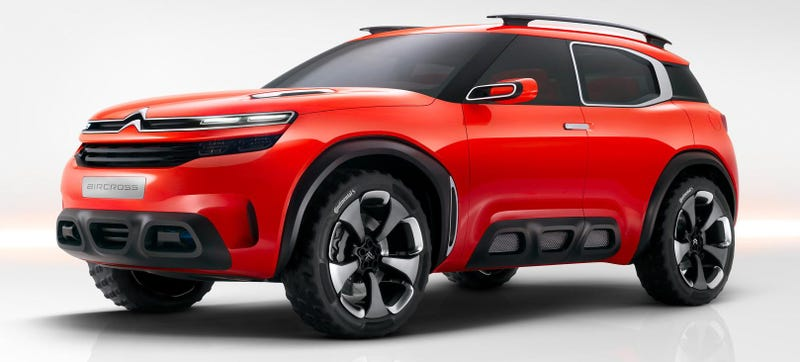 Illustration for article titled The Citroen Aircross Is A SUV That Doesn't Want To Intimidate Anybody