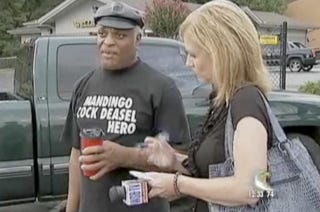 """Illustration for article titled Today Was The Day """"Mandingo Cock Deasel"""" Became An American Hero"""