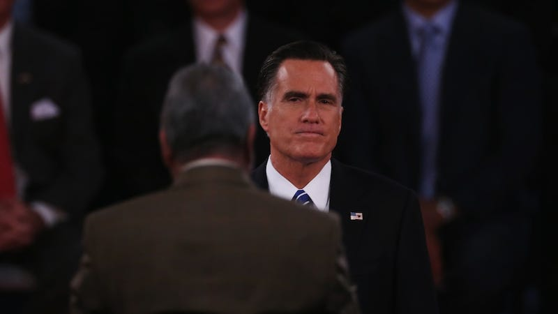 Illustration for article titled Despite Bulging Binders, Mitt Romney Was Awful at Hiring Women as Massachusetts Governor