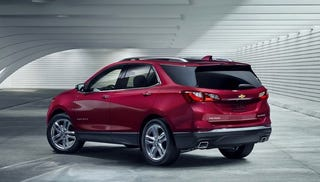 Upcoming Chevrolet Equinox will be offered with a diesel option, estimated to achieve over 40 MPG highway.