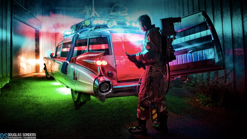 Illustration for article titled Why the Ghostbusters' Ecto-1 is my favorite movie car