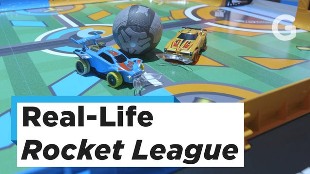 Rocket League is a Lot Easier When You're Playing It In Real Life