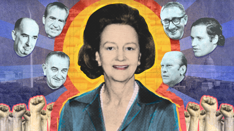 Illustration for article titled Katharine Graham Was Not To Be Fucked With