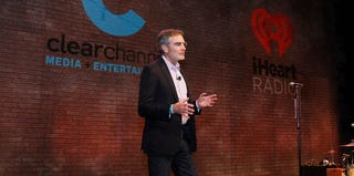 Clear Channel CEO Bob Pittman speaks at a recent event. (Mike Moore/Getty Images for Clear Channel)