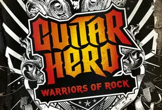 Illustration for article titled Guitar Hero: Warriors Of Rock Also Features These 22 Tunes