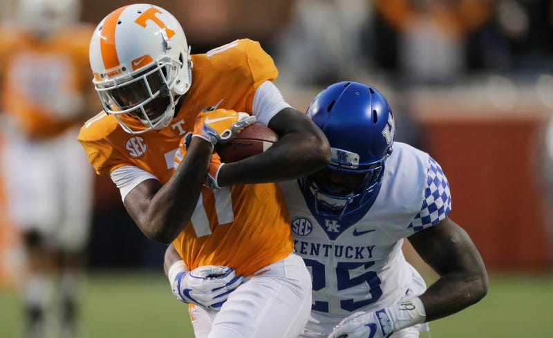 Illustration for article titled Tennessee WR Who Joked About Upset Loss To Georgia State Suddenly No Longer On Team