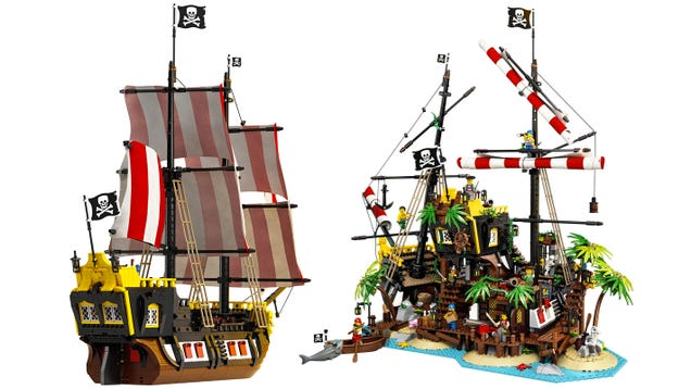 Lego Just Resurrected One of Its Best Pirate Sets of All Time