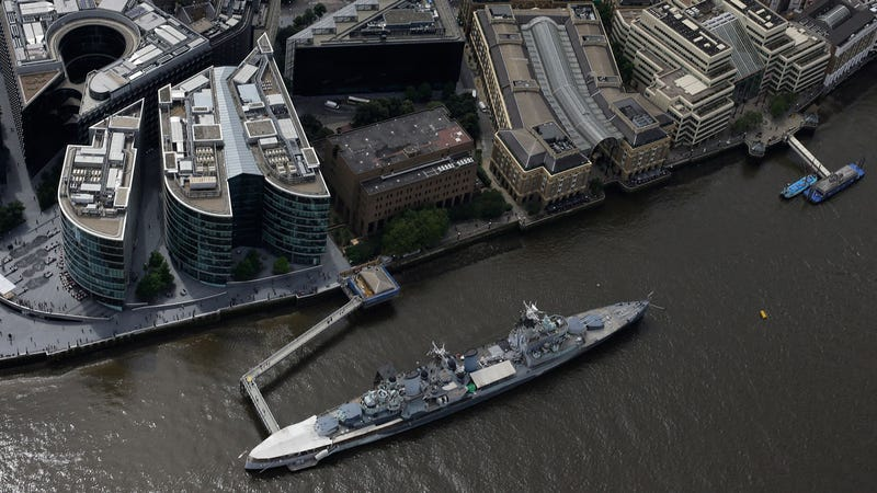 Illustration for article titled The UK Is Hosting Cyber War Games In A Decommissioned Warship