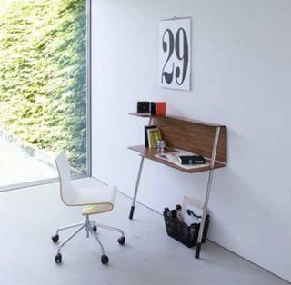 home office solution. This Wallflower Walloffice Desk From Jonas And Design May Hold The Record For Smallest Simplest Home-office Solution: It\u0027s Got Just Two Legs, Home Office Solution U
