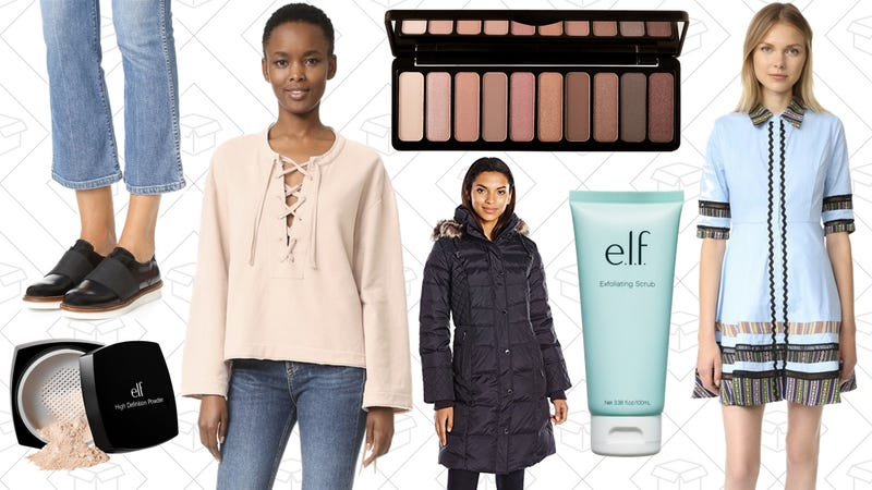 Illustration for article titled Today's Best Lifestyle Deals: Winter Coats, Madewell, Shopbop, e.l.f. Cosmetics, and More