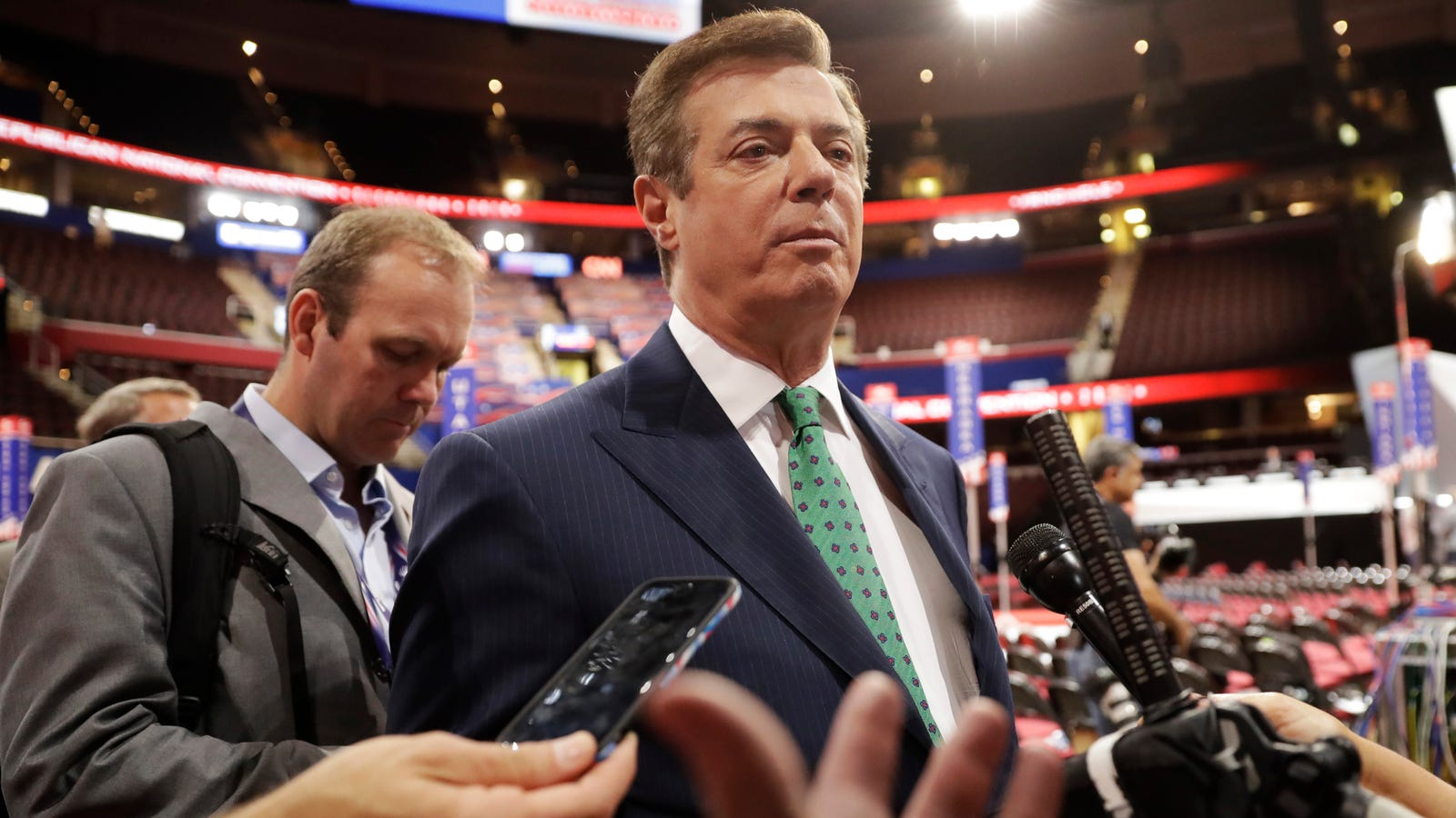 Report: Authorities Wiretapped Trump Campaign Manager Paul Manafort Twice