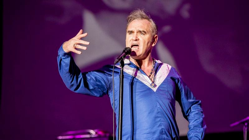 Morrissey (Photo: Getty Images/Xavi Torrent)