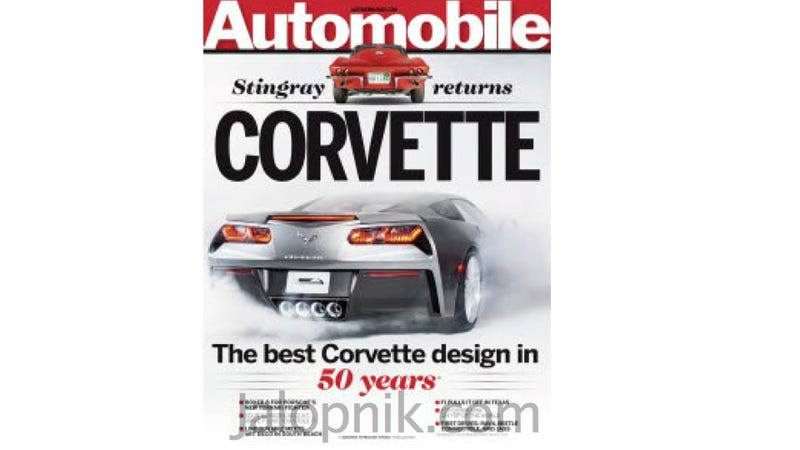 Illustration for article titled 2014 Chevy Corvette: This Is (Really) Most Of It