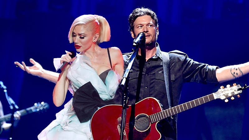 Illustration for article titled Blake Shelton and Gwen Stefani's Love Is More Real Than Anyone Could Ever Comprehend