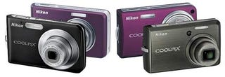 Illustration for article titled Nikon's CoolPix S600, S550, S520, and S210: Slim, Stylish and Plum Purty