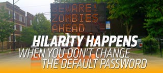 Illustration for article titled The Department Of Homeland Security Wants To Stop Road Sign Hacking