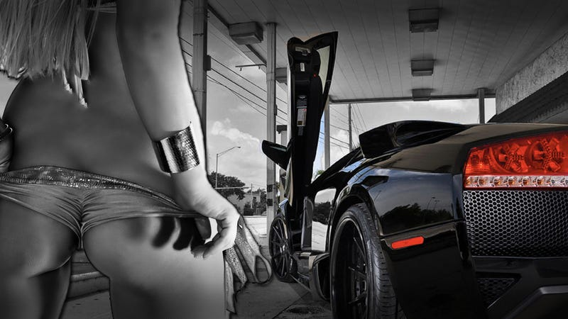 Illustration for article titled Lamborghini tuner threatens customer with stripper video