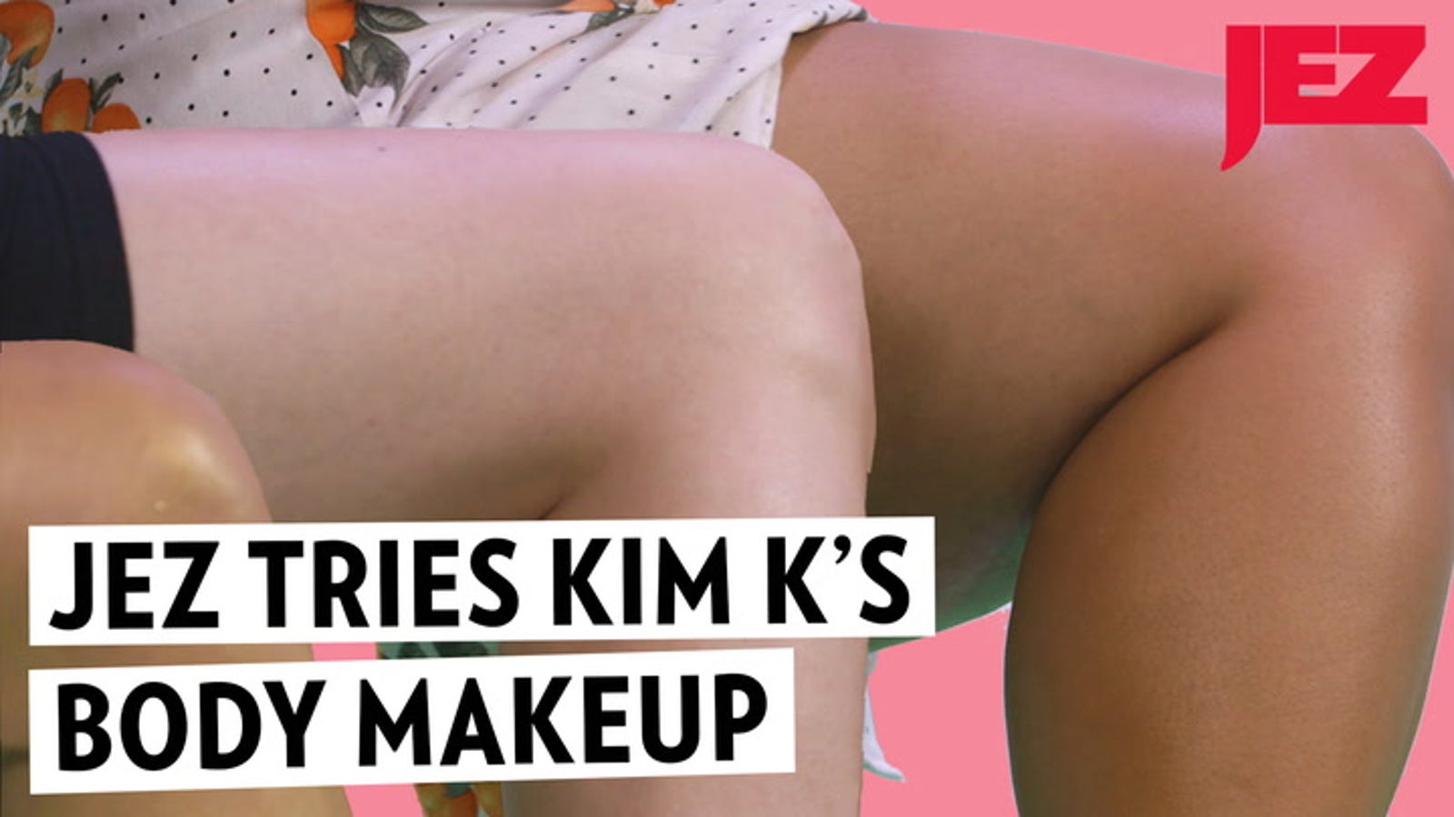 Kim Kardashian's Body Foundation Is Shiny, Grotesque, and One of Us Totally Loved It
