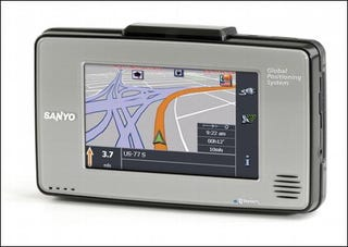Illustration for article titled Sanyo Takes the EasyStreet with NVM-4030 GPS