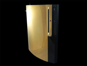 Illustration for article titled Gold, Diamond-Covered PS3 Needs A Price Cut