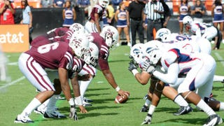 Morehouse College vs. Howard University in the AT&T Nation's Football Classic 2013