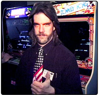 Illustration for article titled Billy Mitchell Again Is Champion Of Donkey Kong — And Jr. Too
