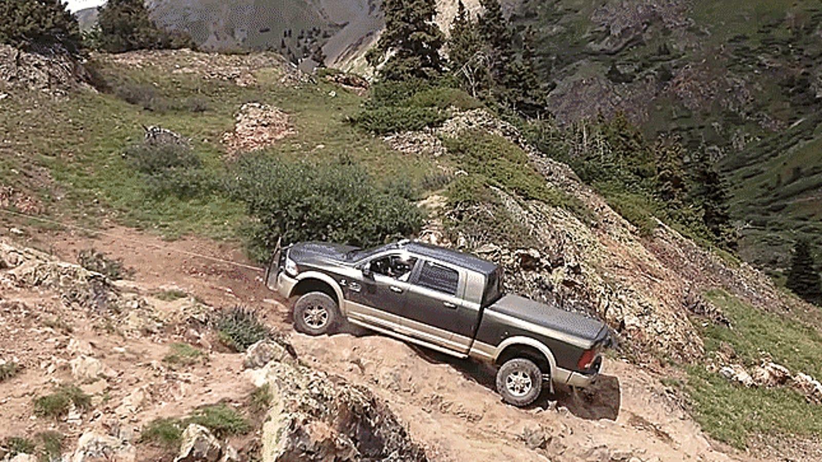 Big-Ass Trucks Aren't Good Off-Road