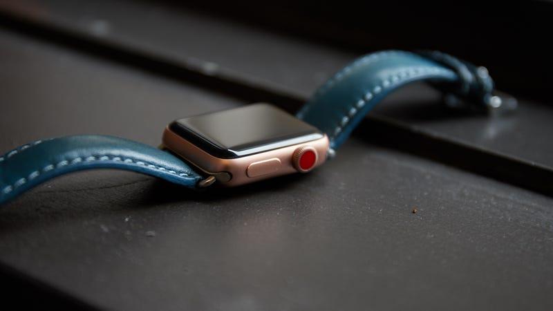 Apple Watch Series 3 42mm GPS + Banda adicional gratis | $229 | AmazonApple Watch Series 3 38mm GPS y Celular | $299 | AmazonApple Watch Series 3 42mm GPS y Celular | $329 | Amazon Foto: Gizmodo