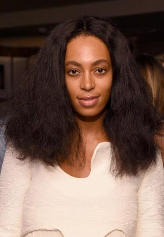 Singer and songwriter Solange Knowles attends the AD Oasis at James Royal Palm Hotel in Miami Beach, Fla., on Dec. 4, 2014.Larry Busacca/Getty Images for Architectural Digest
