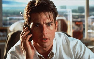 Illustration for article titled When 90s Tom Cruise Got Stuck On A Game, He Called For Help