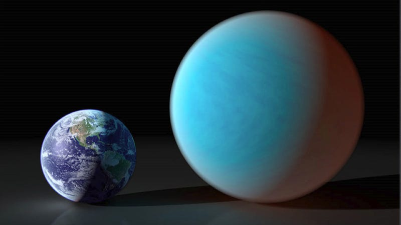 "Illustration for article titled Meet 55 Cancri e — the ""oozing"" exoplanet"