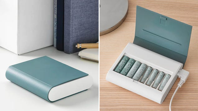 Ikea s Redesigned Book-Shaped Charger Is Now Even Easier to Hide