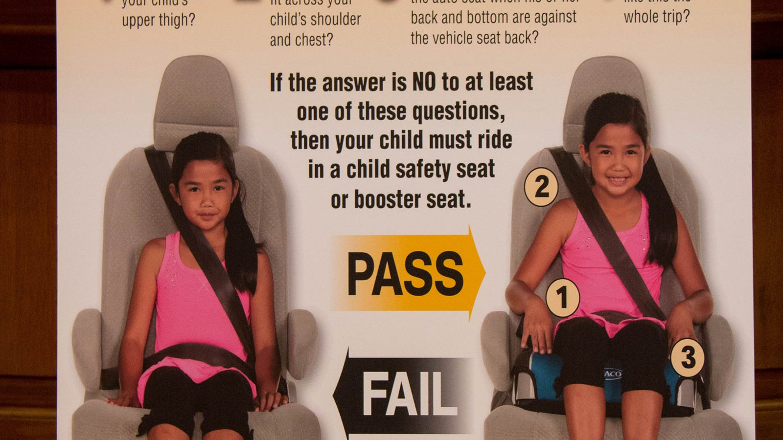 When Kids Can Stop Using a Booster or Sit in the Front Seat of the Car