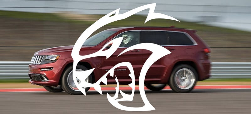Illustration for article titled A Jeep Grand Cherokee Hellcat Would Be The Ultimate Car Of This Year