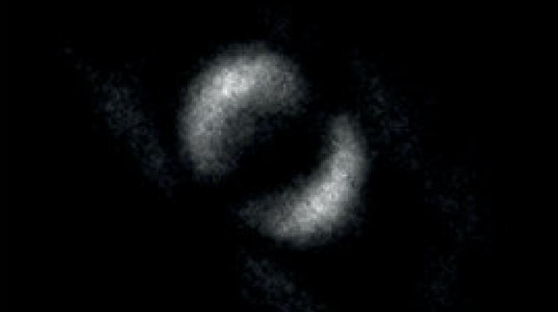 "The ""photo"" of quantum entanglement."