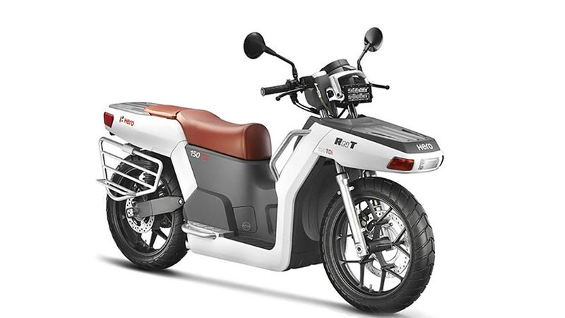 This Diesel Powered Scooter Packs More Utility Than A
