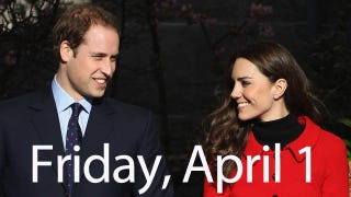 Illustration for article titled Prince William Admits He's Got The Pre-Wedding Jitters