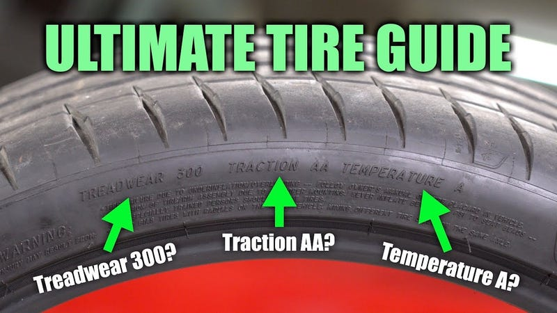 Illustration for article titled How to Understand What's Written on Your Tires