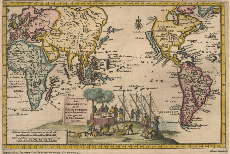 Map Of America History.12 Maps Of America From Before We Knew What It Looked Like