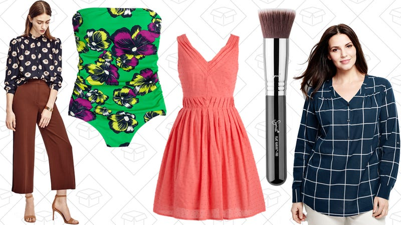 Illustration for article titled Today's Best Lifestyle Deals: ModCloth, J.Crew Factory, Ann Taylor, Lands' End, and More