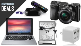Illustration for article titled Your New Mirrorless Camera, Cheaper Espresso, 840 EVO SSD [Deals]