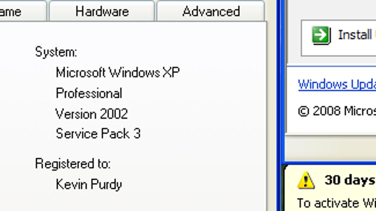 windows xp professional sp2 product key version 2002