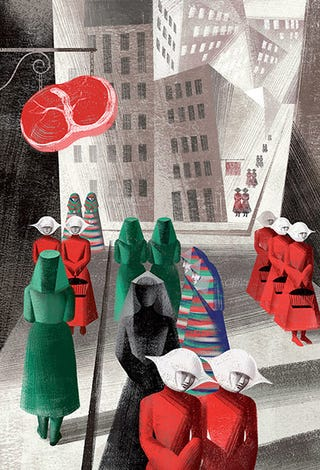 "Illustration for article titled Rereading ""the Handmaid's Tale"""
